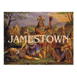 ABH Jamestown Postcard