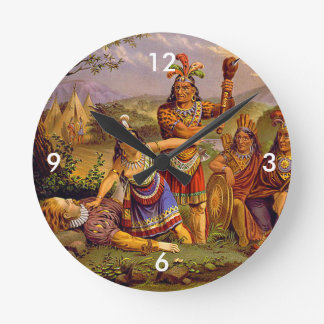 ABH Jamestown Round Clock