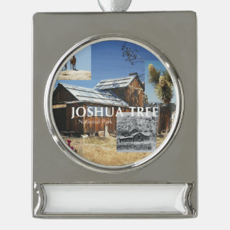 ABH Joshua Tree Silver Plated Banner Ornament