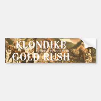 ABH Klondike Gold Rush Car Bumper Sticker