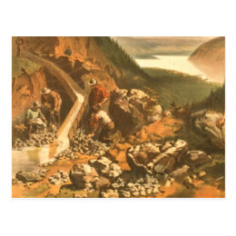 ABH Klondike Gold Rush Postcard