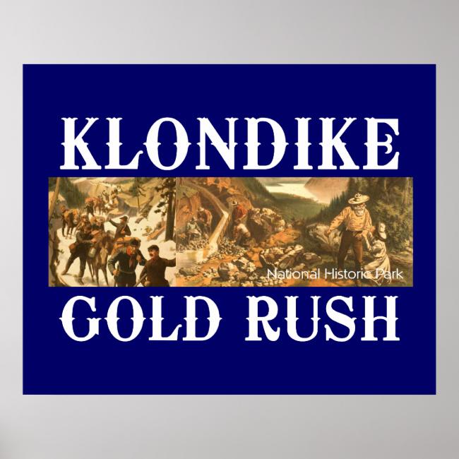 ABH Klondike Gold Rush Poster