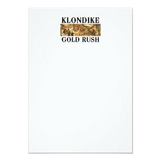 "ABH Klondike Invitación 5"" X 7"""