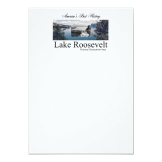 ABH Lake Roosevelt 5x7 Paper Invitation Card