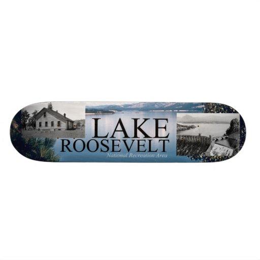 ABH Lake Roosevelt Custom Skate Board