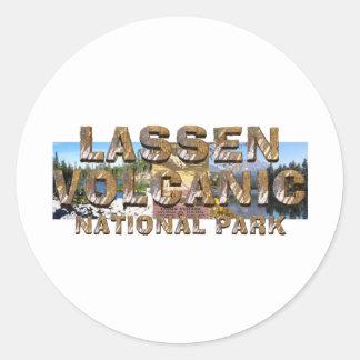 ABH Lassen Volcanic Classic Round Sticker
