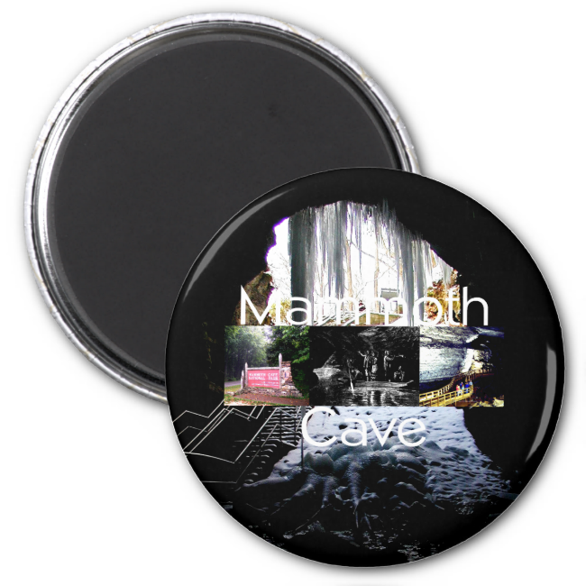 ABH Mammoth Cave 2 Inch Round Magnet