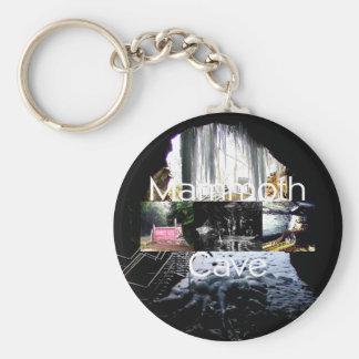 ABH Mammoth Cave Basic Round Button Keychain