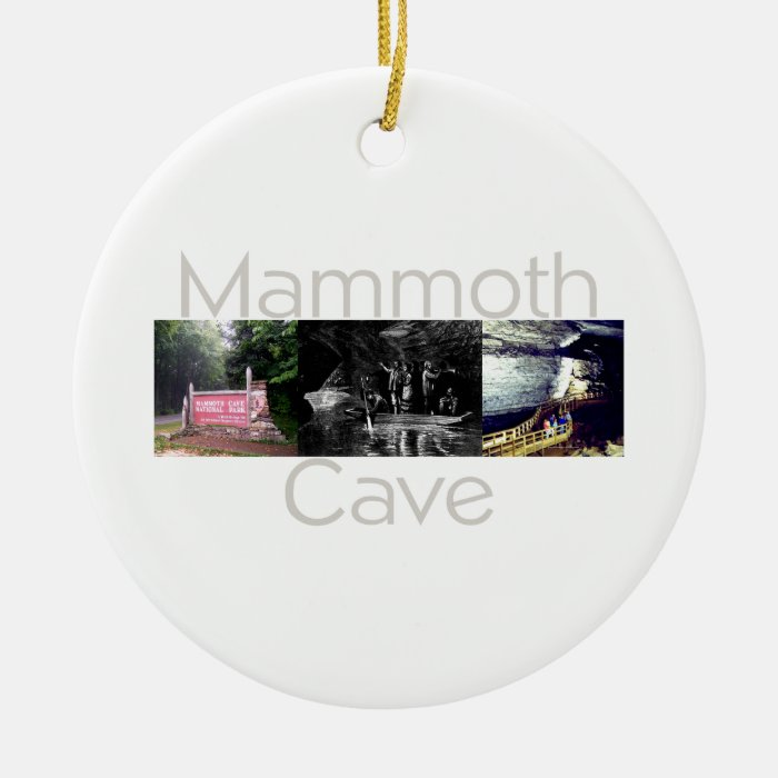 ABH Mammoth Cave Ceramic Ornament