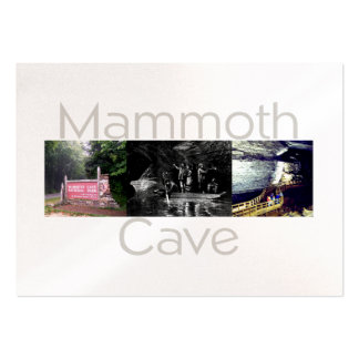 ABH Mammoth Cave Large Business Card