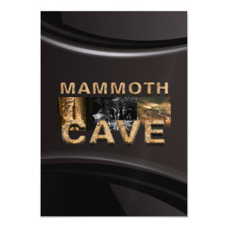 ABH Mammoth Cave Magnetic Card