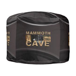 ABH Mammoth Cave Pouf