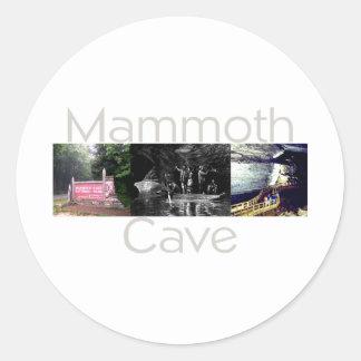 ABH Mammoth Cave Round Sticker