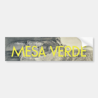 ABH Mesa Verde Car Bumper Sticker
