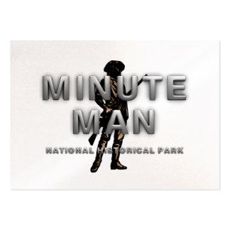 ABH Minute Man Business Card