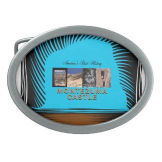 ABH Montezuma Castle Oval Belt Buckle