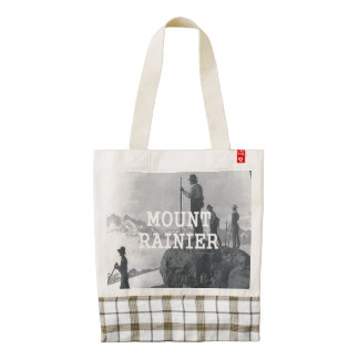 ABH Mount Rainier Zazzle HEART Tote Bag