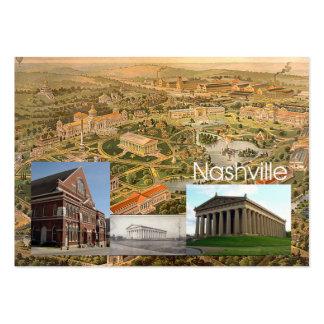 ABH Nashville Tarjetas De Visita Grandes