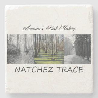 ABH Natchez Trace Stone Beverage Coaster