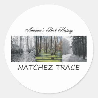 ABH Natchez Trace Round Stickers