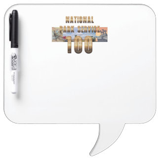 ABH National Park Service 100 Dry Erase Board