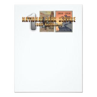 """ABH National Park Service 100 Invitación 4.25"""" X 5.5"""""""