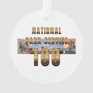 ABH National Park Service 100 Ornament