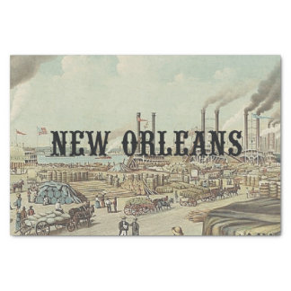 "ABH New Orleans 10"" X 15"" Tissue Paper"
