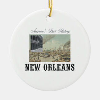ABH New Orleans Ceramic Ornament