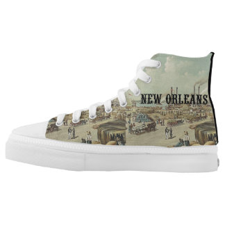 ABH New Orleans High-Top Sneakers