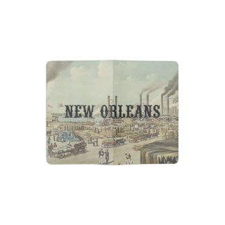 ABH New Orleans Pocket Moleskine Notebook Cover With Notebook