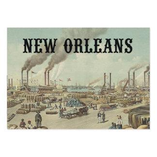 ABH New Orleans Plantilla De Tarjeta De Visita