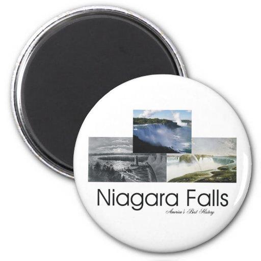 ABH Niagara Falls Imán Redondo 5 Cm