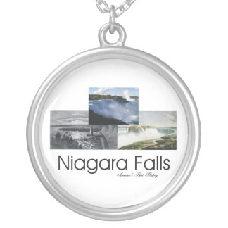 ABH Niagara Falls Silver Plated Necklace