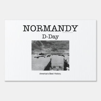 ABH Normandy Lawn Sign