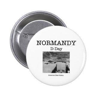 ABH Normandy Pinback Button