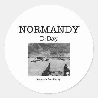 ABH Normandy Classic Round Sticker