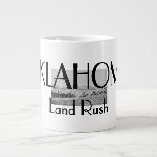 ABH Oklahoma Land Rush 20 Oz Large Ceramic Coffee Mug