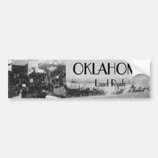 ABH Oklahoma Land Rush Bumper Sticker