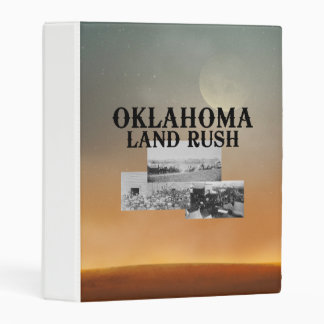 ABH Oklahoma Land Rush Mini Binder