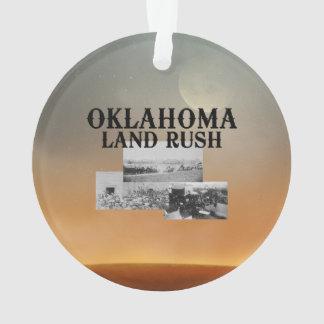 ABH Oklahoma Land Rush Ornament