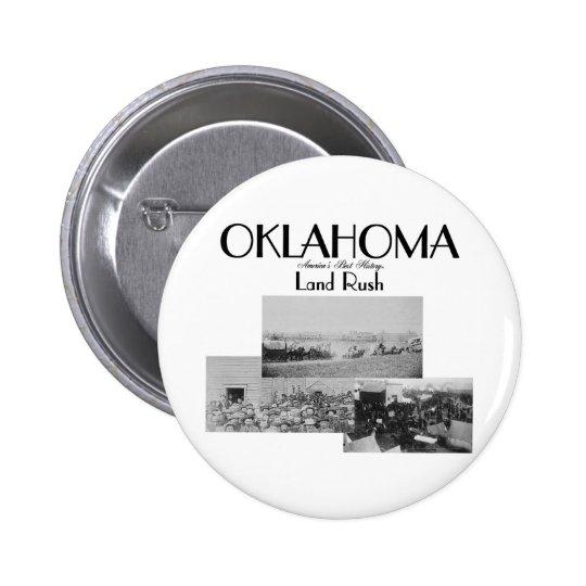 ABH Oklahoma Land Rush Pinback Button