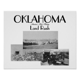 ABH Oklahoma Land Rush Print
