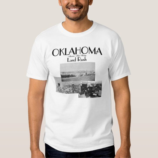 Oklahoma Land Rush T-Shirts and Souvenirs