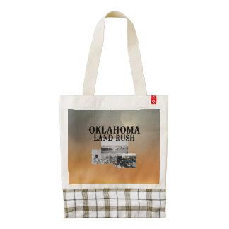 ABH Oklahoma Land Rush Zazzle HEART Tote Bag