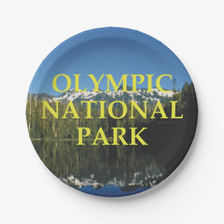 ABH Olympic National Park Paper Plate