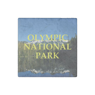 ABH Olympic National Park Stone Magnet