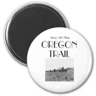 ABH Oregon Trail 2 Inch Round Magnet