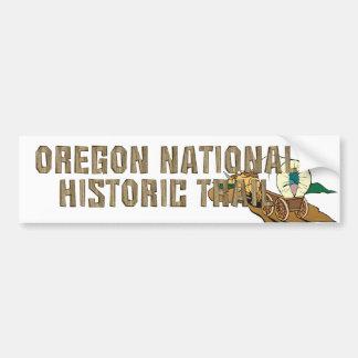 ABH Oregon Trail Car Bumper Sticker