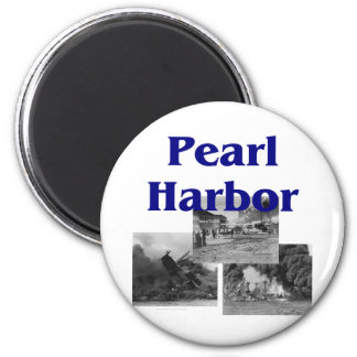 ABH Pearl Harbor 2 Inch Round Magnet